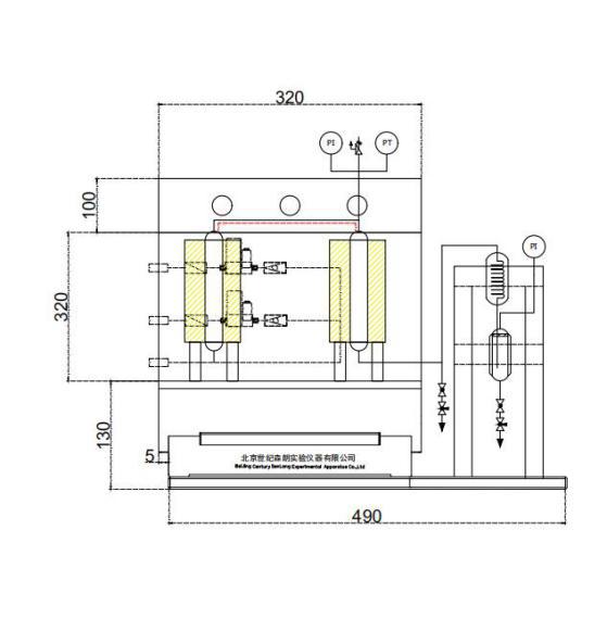 微型固定床反应釜系统装置(图1)