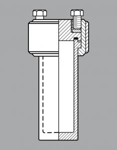 高温水热釜或称酸消化罐(图1)